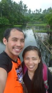 Selfie with wifee!
